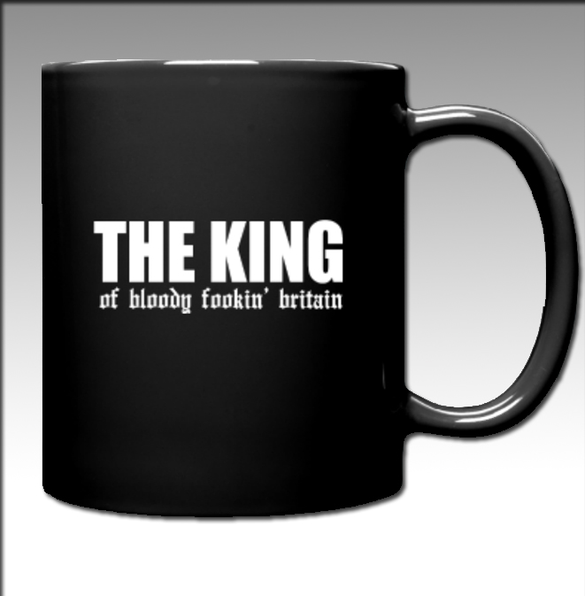 The King of BFB (MUG) White Font