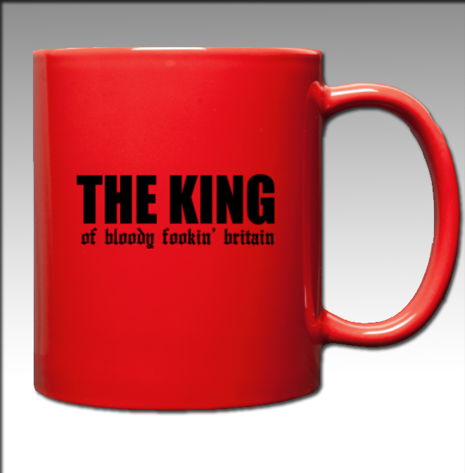 The King of BFB (MUG) Black Font
